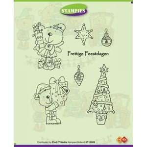 Stampies clearstamps, Christmas gifts  - UTGÅR