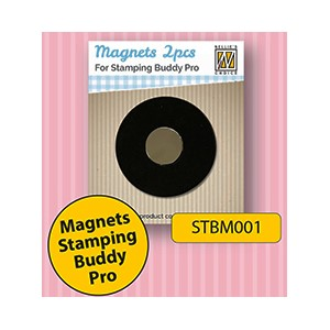 Spare magnets 2 pcs/pkg for stamping buddy Pro STB002