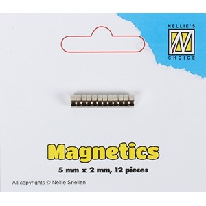 STBM002 Magnets 5x2mm 12 pcs/pkg