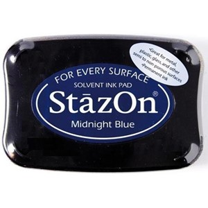 Stazon Ink pad Midnightblue