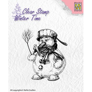 Clear Stamps Winter Time Snowman
