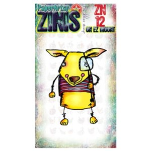 Zini 12 (8x5cm stamp on EZ)