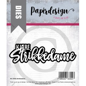 PD 19302 Strikkedame, dies