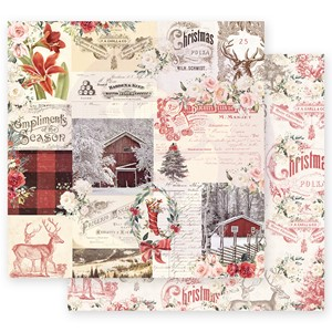 Christmas In The Country 12x12 Inch Sheets Compliments of th