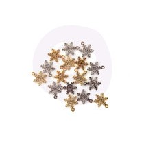 Christmas In The Country Snowflake Charms