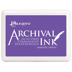 #3 Archival  Ink Pads - Majestic Violet