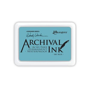 Archival Ink Pad - Sky Blue