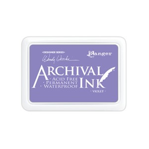 Archival  Ink Pad Violet