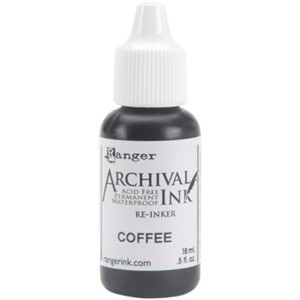 Archival  Ink, Reinker, Coffee, 0,5 oz