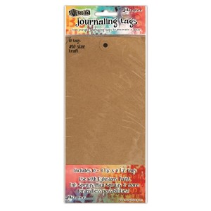 Dylusions Kraft #10 Tags 4.125 X 8.5, 10 Pack