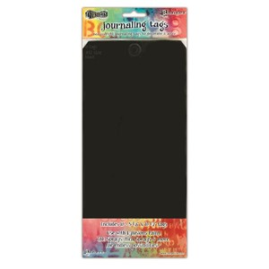 Dylusions Black #12 Tags 5.125 X 10.5, 10 Pack