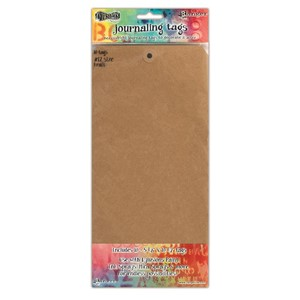 Dylusions Kraft #12 Tags 5.125 X 10.5, 10 Pack