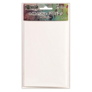Dylusions Adhesive Canvas Blank 3.375 x 5.25