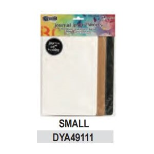 Dylusions Journal Insert Sheets Assortment Small 3 Black, 3