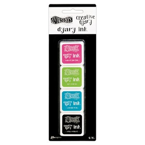 Dylusions Creative Dyary Ink Set Includes 1 each of Black M