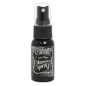 Dylusions Shimmer Sprays - Black Marble