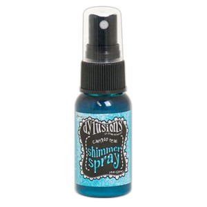 Dylusions Shimmer Sprays - Calypso Teal