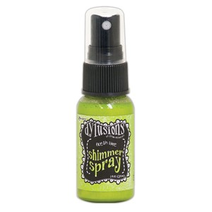 Dylusions Shimmer Sprays - Fresh Lime