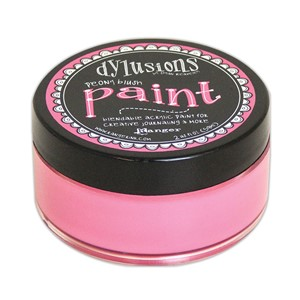 Dylusions Paints  Peony Blush