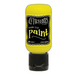 Dylusions Paints 1 oz. Bottle - Lemon Zest
