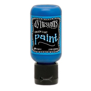 Dylusions Paints 1 oz. Bottle - London Blue