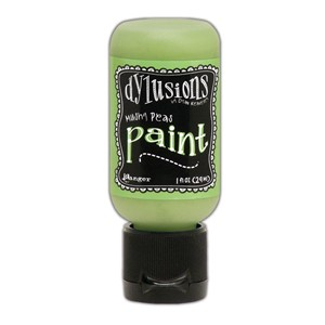 Dylusions Paints 1 oz. Bottle - Mushy Peas