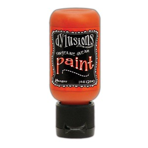 Dylusions Paints 1 oz. Bottle - Tangerine Dream