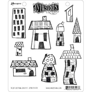 Right Up Your Street, Dylusions stamp