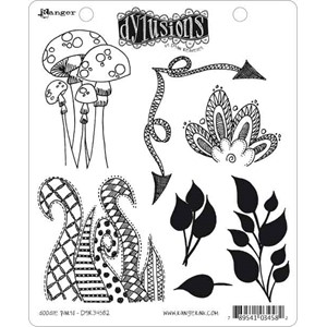 Doodle Parts, Dylusions stamp