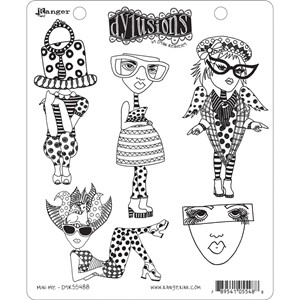 Dylusions Stamp  - Mini Me