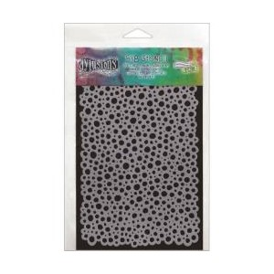 Dylusions Stencils , Bubbles - Small