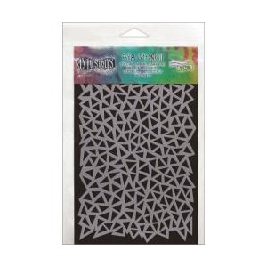 Dylusions Stencils , Triangles - Small