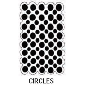 Dylusions Stencils - Circles - Large