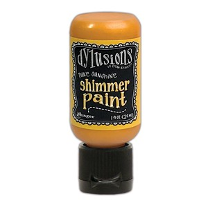 Dylusions Shimmer Paints - Pure Sunshine-  1 Oz. Flip Top Bo