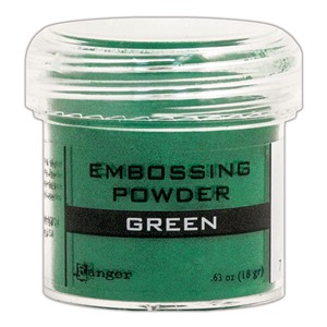 Green, Opaque / Shiny Embossing Powder