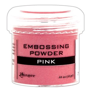 Pink, Opaque / Shiny Embossing Powder
