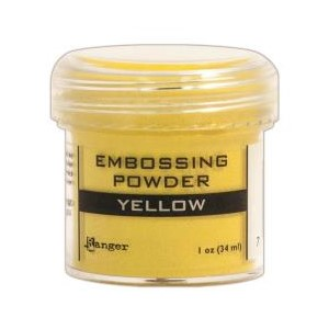 Yellow, Opaque / Shiny Embossing Powder