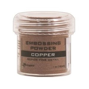 Embossing powder, Super Fine Detail Copper