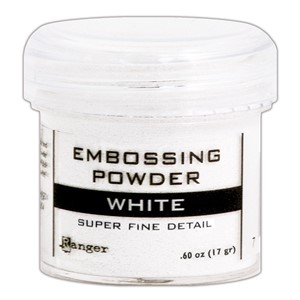 Embossing powder, Super  Fine Detail White