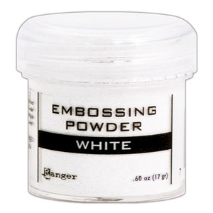 Embossing powder, White