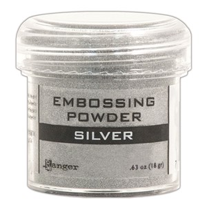 Embossing powder, Silver