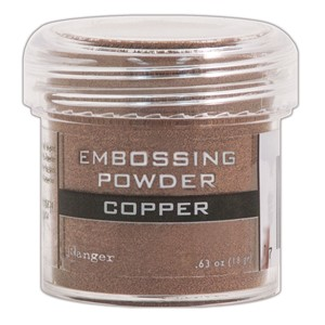 Embossing powder, Copper
