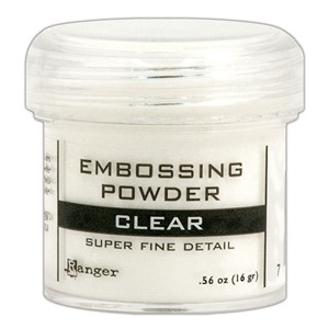 Embossing powder, Super Fine Detail Clear