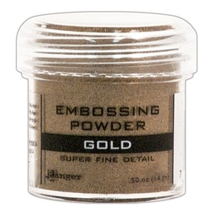 Embossing powder, Super Fine Detail Gold