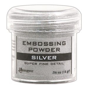 Embossing powder, Super Fine Detail Silver