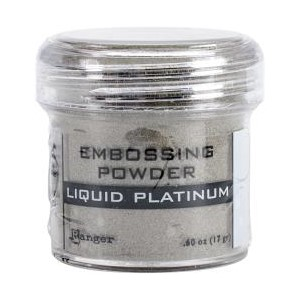 Embossing powder Liquid Platinum, 1oz