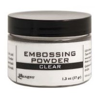 Clear - Embossing Powder 3 oz.