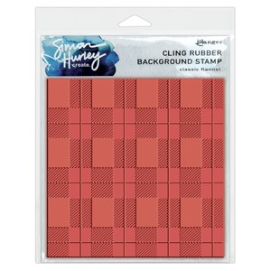 Simon Hurley create. - Classic Flannel Background Stamp (6