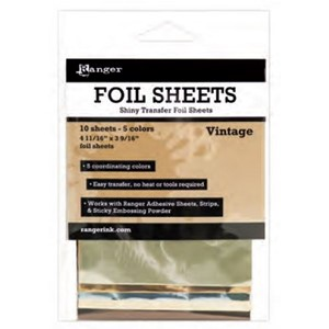 Shiny Transfer Foil 10 sheets/pk - Vintage