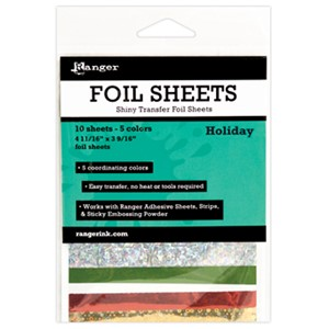 Foil Transfer Sheets - Holiday